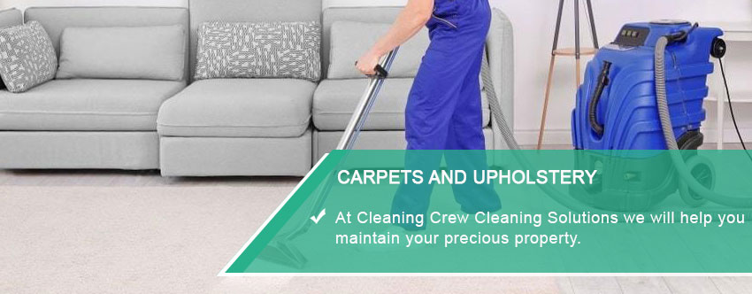 Carpets and Upholstery Cleaning